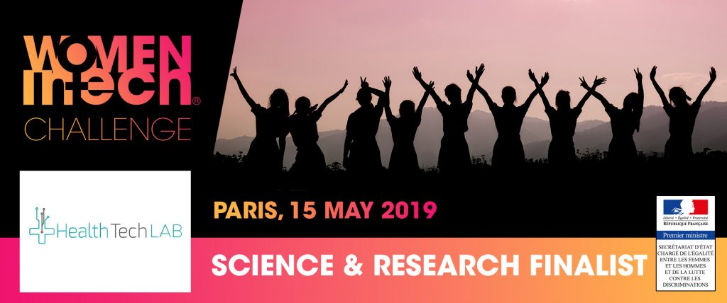 Health Tech Lab is one of four finalists of Science and Research category for Women in Tech Challenge in Paris